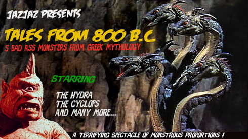 Read more about the article Top 5 Bad Ass Monsters From Greek Mythology