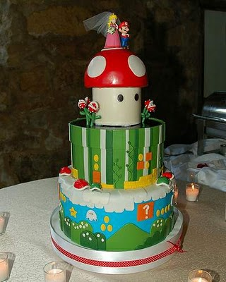 Read more about the article Super Mario Wedding Cake