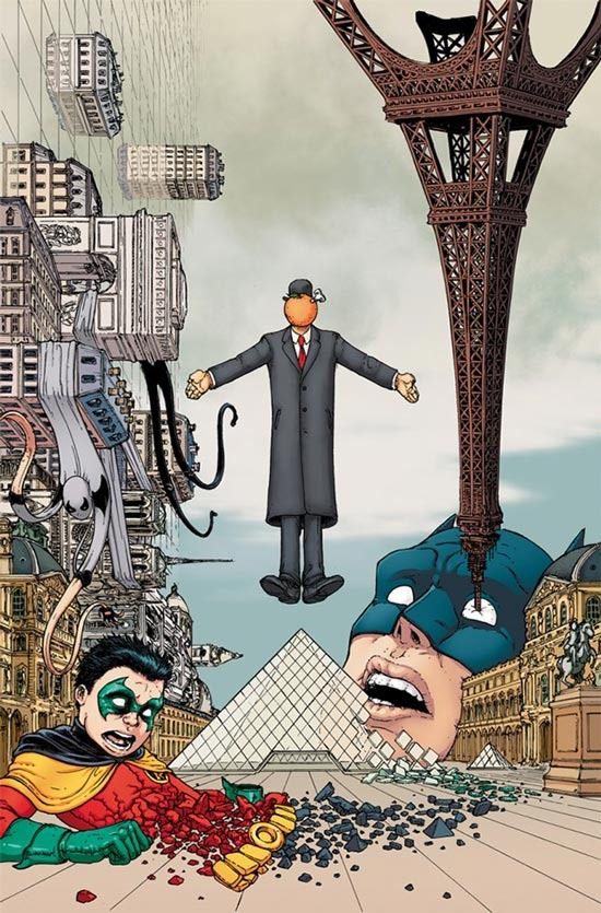 Read more about the article Batman and Robin's Surreal French Vacation