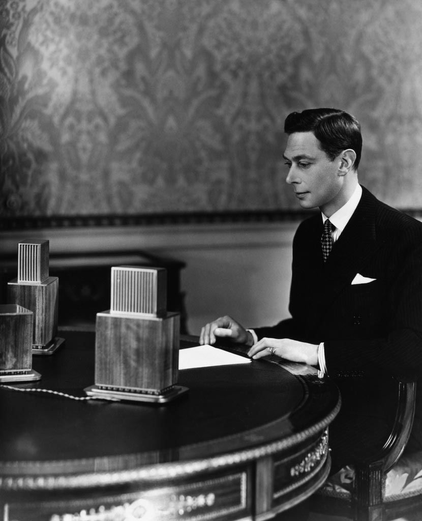 Read more about the article King George VI at the Microphone
