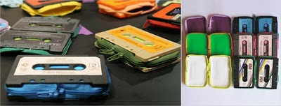 Read more about the article Designer Wallets made from Audio Cassettes