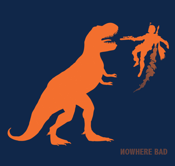 Read more about the article Boba Fett Fighting a T.Rex
