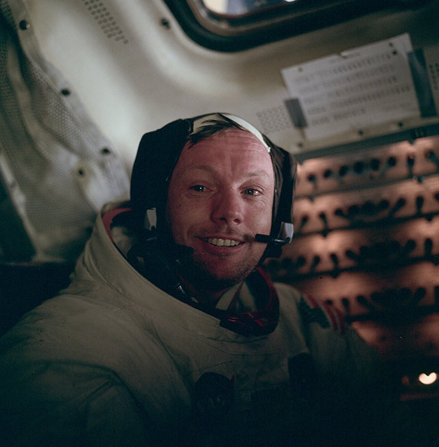 Read more about the article Neil Armstrong, After His First Moon Walk
