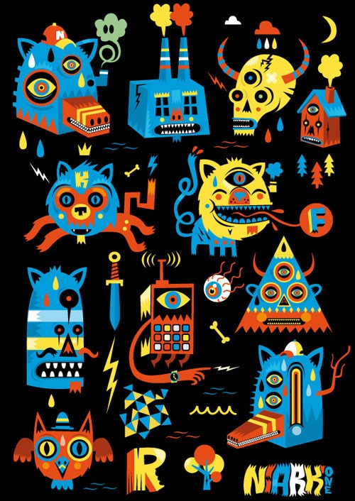 Read more about the article Vector Illustrations by Sebastien FERAUT