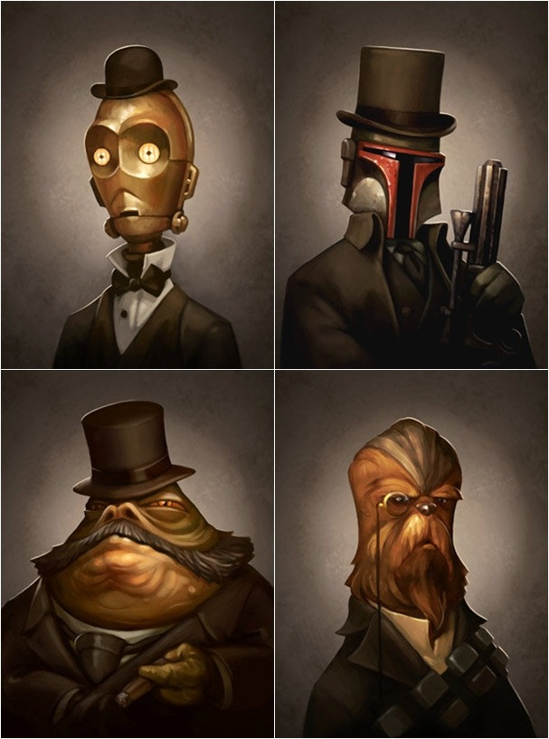 Read more about the article Victorian-Style Star Wars Portraits
