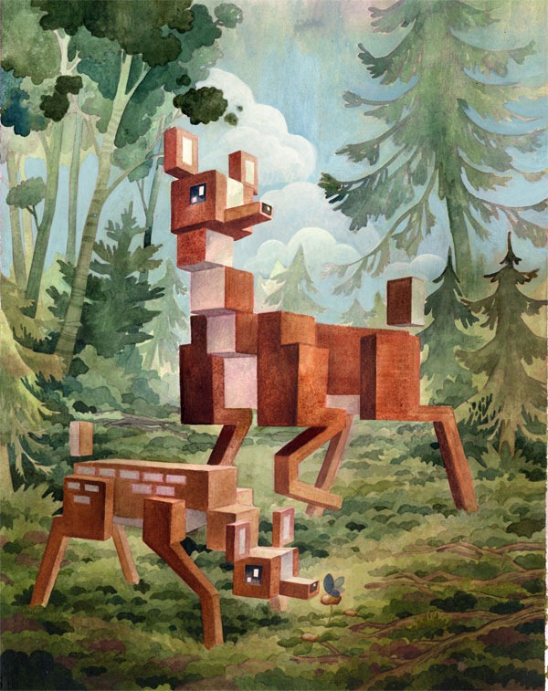 Read more about the article Pixel Animals by Laura Bifano