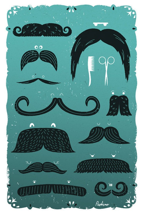 Read more about the article Moustaches – iPhone Art