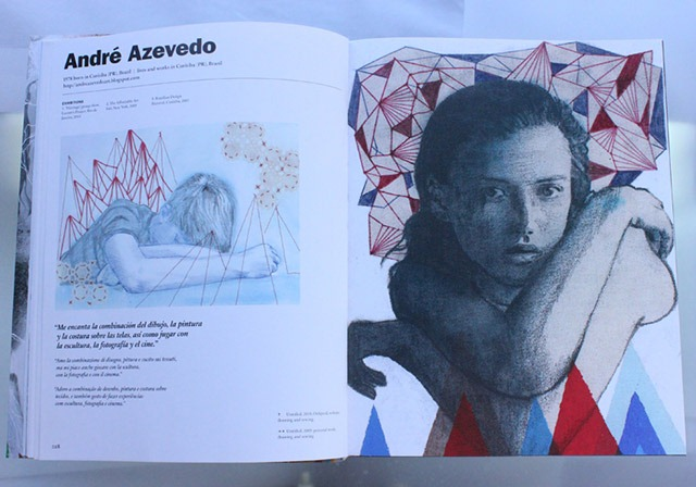 Read more about the article Artist Andre Azevedo Featured in Illustration Now! Magazine