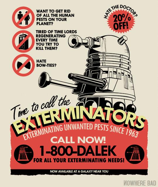 Read more about the article Dalek Exterminators