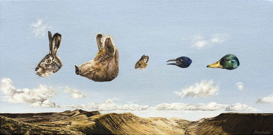 Read more about the article Amy Guidry's Stunning Surreal Paintings