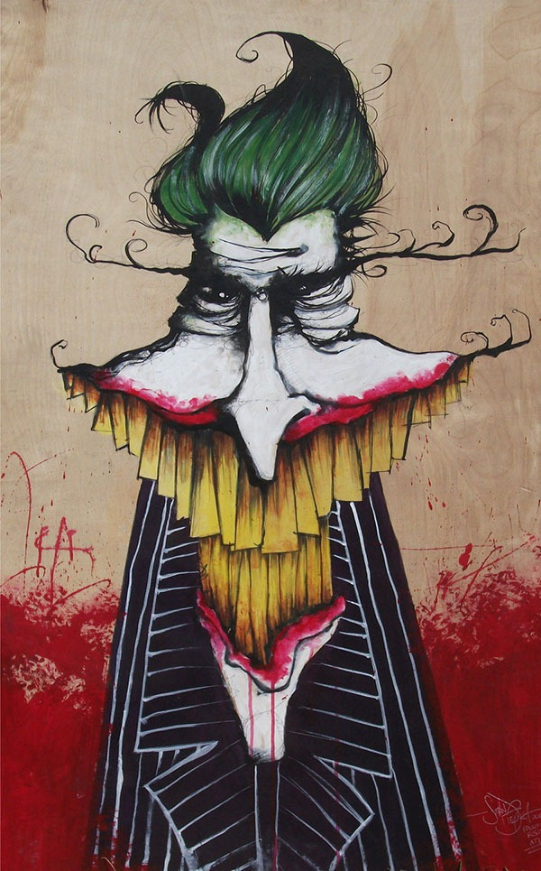 Read more about the article A Painting of The Joker