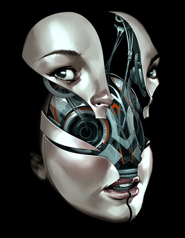 Read more about the article Future Faces – Cyborg Heads Under Assembly