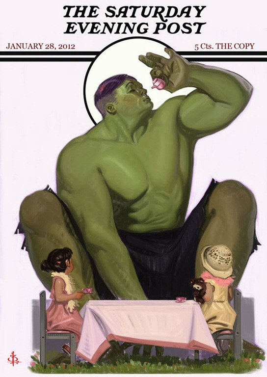 Read more about the article Tea Time With The Hulk