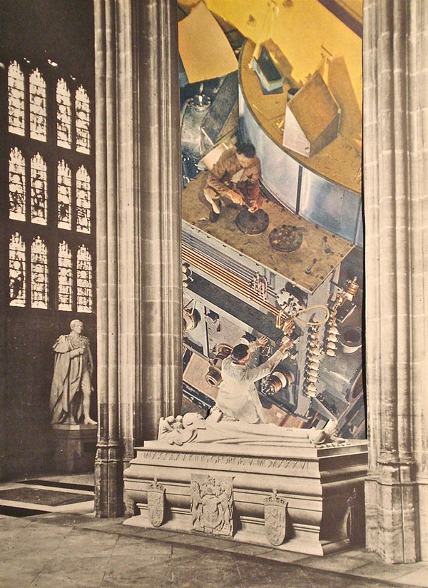 Read more about the article Burial, Collage Art by Jayne Surrena (JazJaz Flickr Pool)