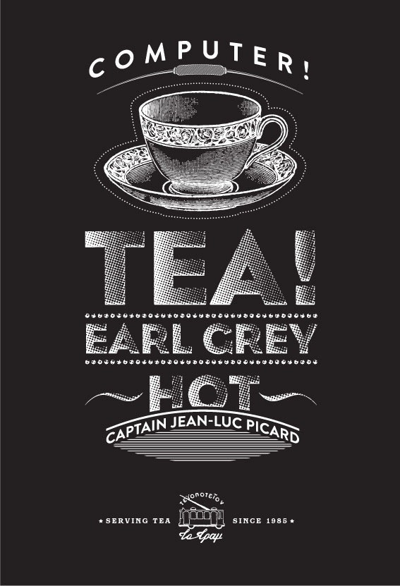 Read more about the article Tram Tearoom – Promotional Posters