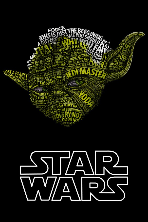 Read more about the article Star Wars Typographic Portraits