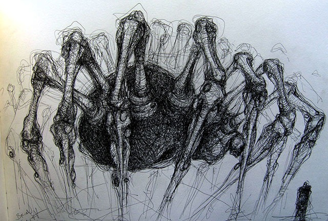 Read more about the article Brian Smiths's Surreal Pencil Sketches