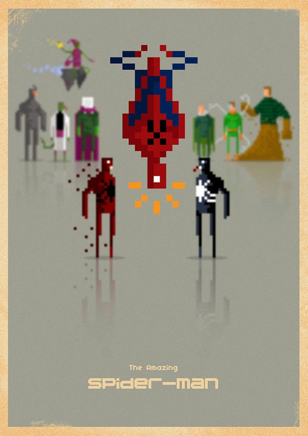 Read more about the article 8-Bit Marvel Superheroes and Villains