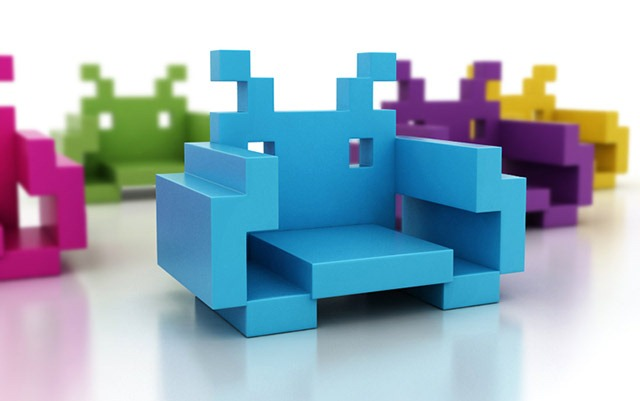 Read more about the article Space Invader Chairs