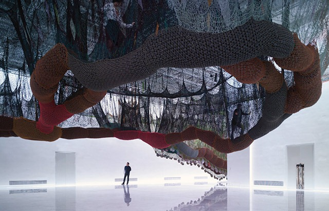 Read more about the article Ernesto Neto's Awe-Inspiring Art Installation
