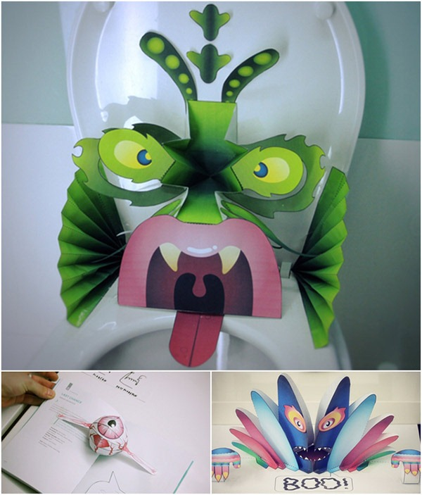 """Read more about the article DIY Pop-up Monsters From """"Waste"""""""