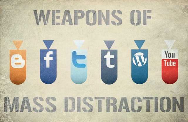Read more about the article Weapons of Mass Distraction (JazJaz Flickr Pool)