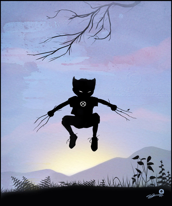 Read more about the article Superhero Kid Silhouettes