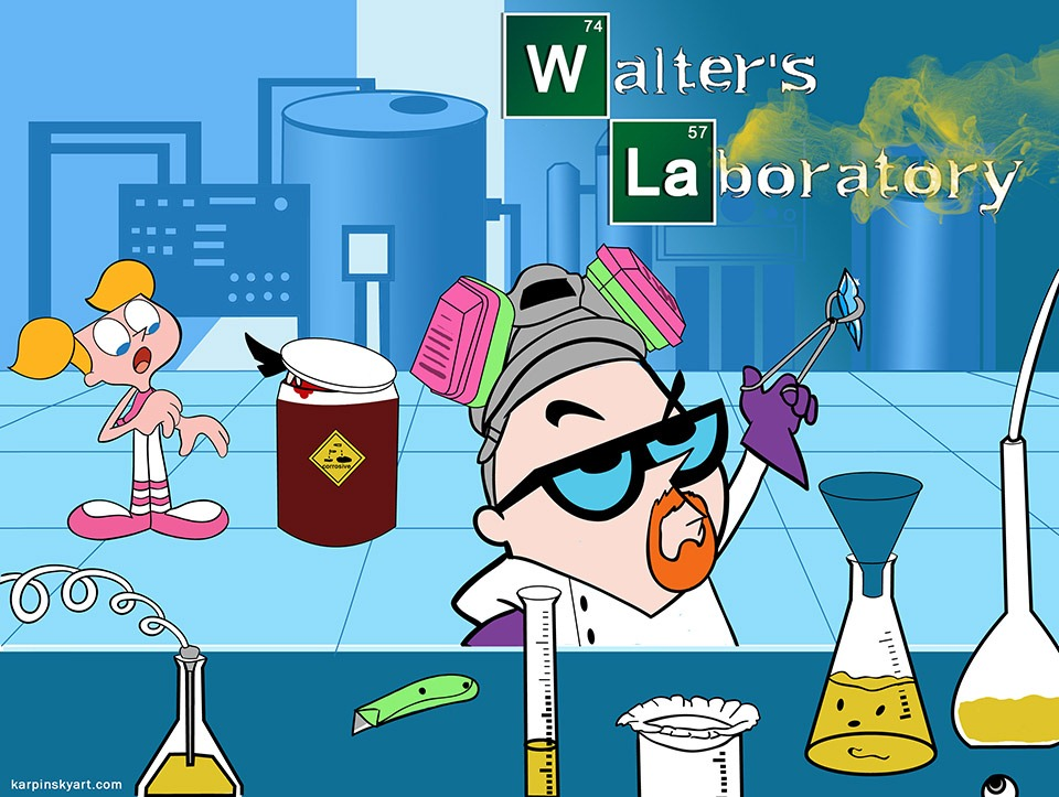 Read more about the article Breaking Bad vs. Dexter's Lab