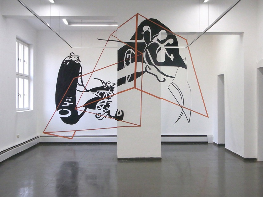 Read more about the article A 3D Tape Art Installation by Joerg Mandernach