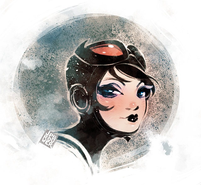 Read more about the article Catwoman Illustration by James Brouwer
