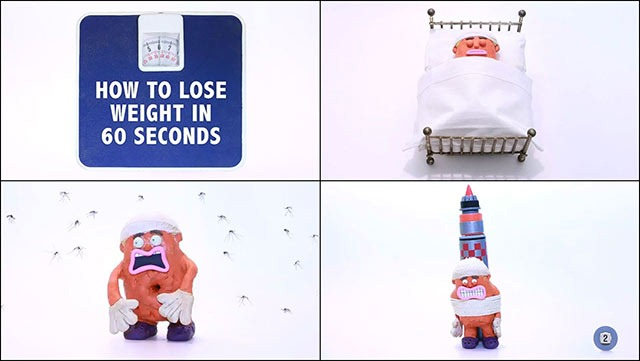 Read more about the article Claymation Short Shows You How to Lose Weight in 60 Seconds