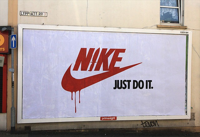 Read more about the article Brandalism: Street Artists Hijack Commercial Billboards in the UK