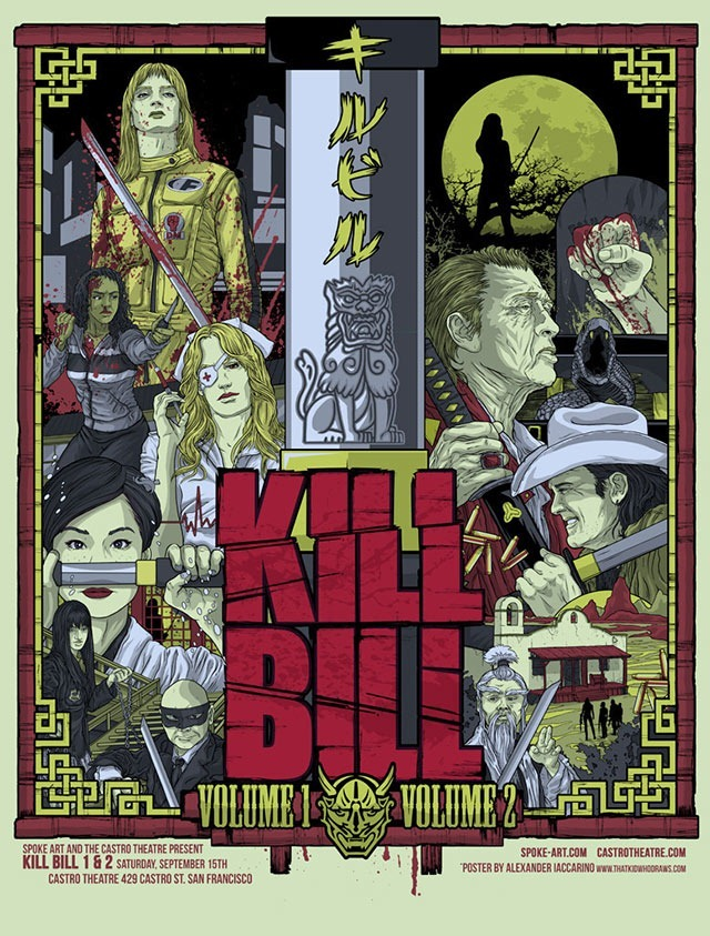 Read more about the article Kill Bill Vol. 1 & 2 Film Posters