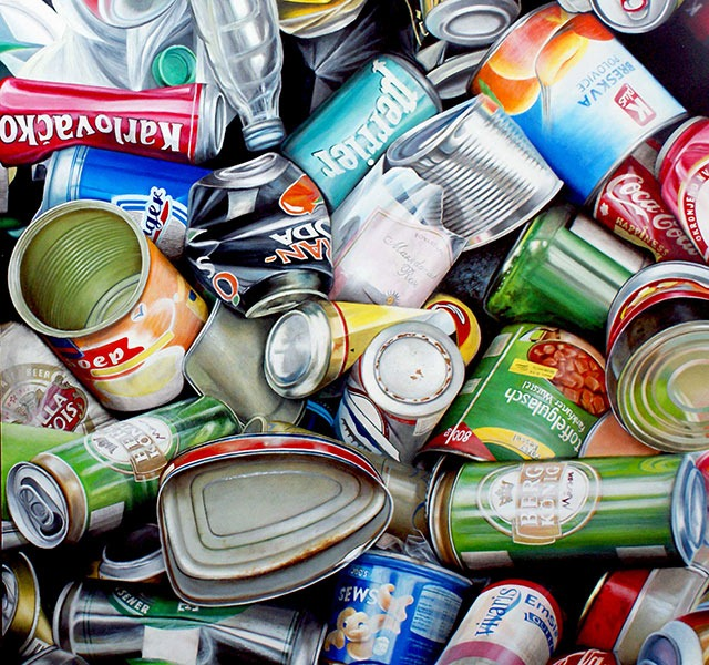 Read more about the article Stephane Dillies's Garbage Art