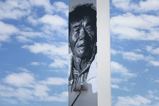 Read more about the article Asia's Tallest Mural by Hendrik Beikirch