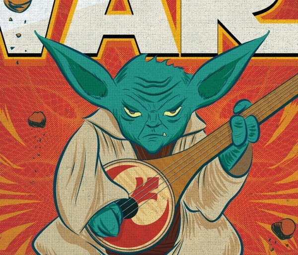 Read more about the article Star Wars Characters Playing the Sitar