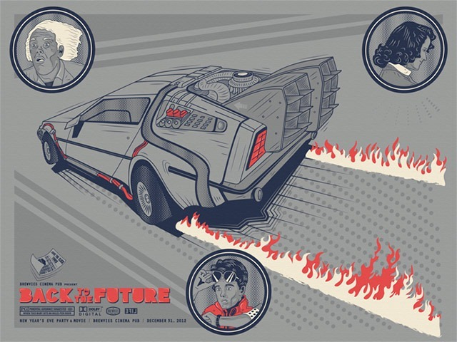 """Read more about the article """"Back To The Future"""" Art Print"""