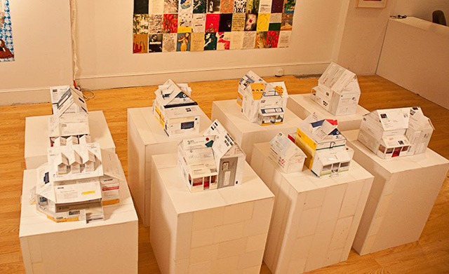Read more about the article Model Houses Made From Credit Card Applications