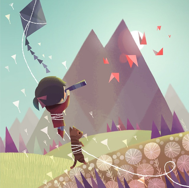 Read more about the article Beautiful Fantasy Paintings by Joey Chou