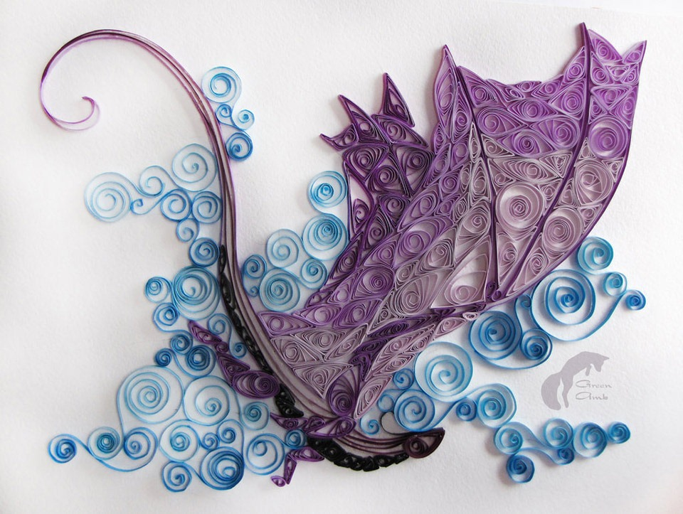 Read more about the article Incredible Folded Paper Art Dragon