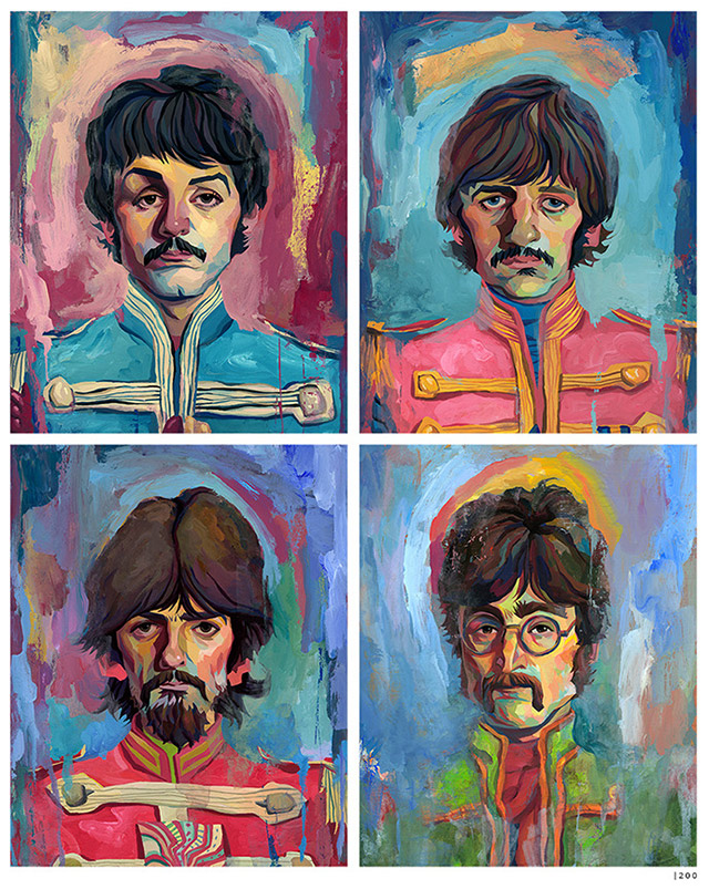 Read more about the article An Art Print Inspired by Sgt. Peppers Lonely Hearts Club Band