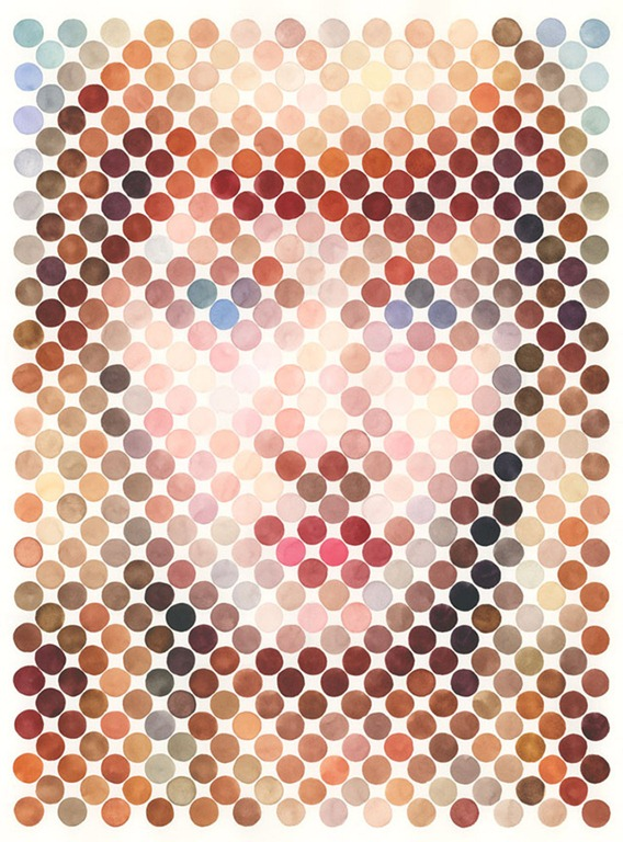 Read more about the article Nathan Manire's Brilliant Dot Art Paintings