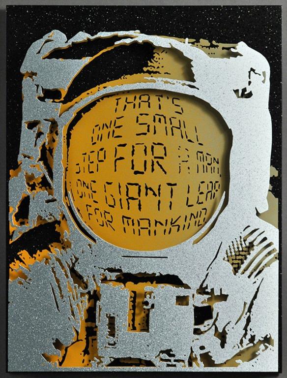 Read more about the article Alan Derrick's Fantastic 3D Metal Pop Art