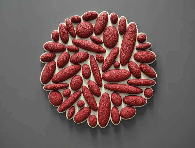 Read more about the article The Drops Series – Highly Textured Wall Sculptures by David Drumlin