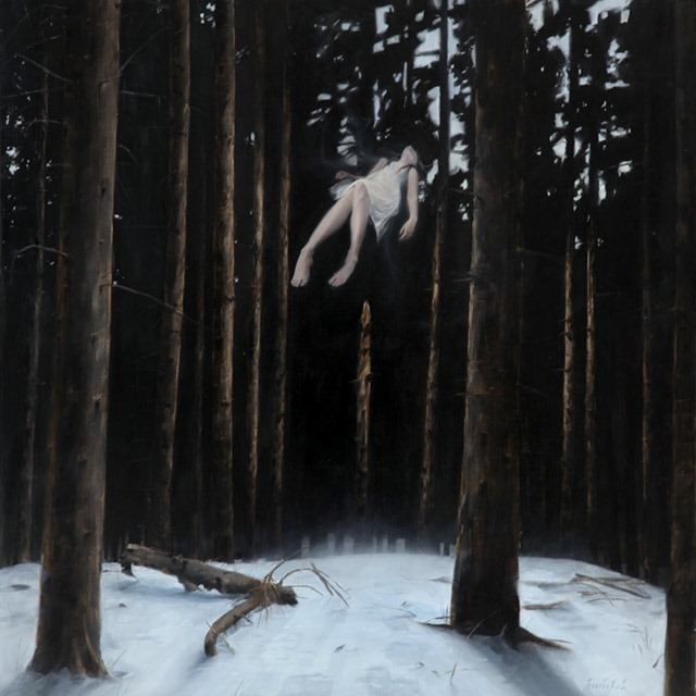 """Read more about the article """"Fallen"""" – An Ethereal Painting by Henrik Uldalen"""
