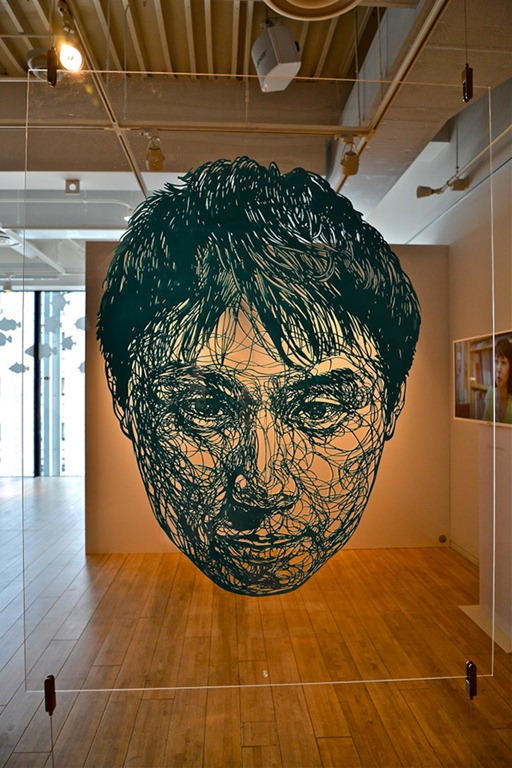 Read more about the article Large Paper Cutout Installations by Risa Fukui