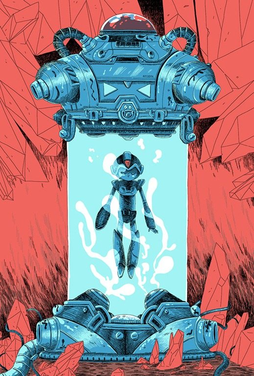 Read more about the article Fantastic Mega Man X Illustration by Zac Gorman