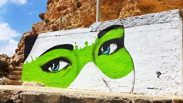 Read more about the article The Cliffs Have Eyes – Urban Art by Fin DAC