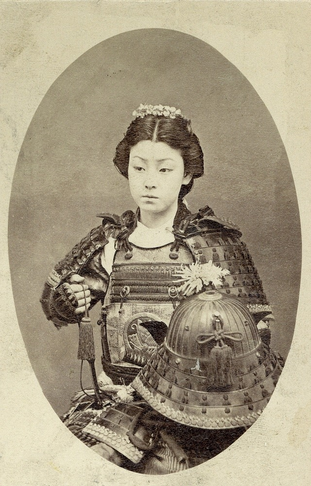 Read more about the article A Rare Vintage Photograph of a Japanese Female Warrior
