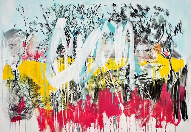Read more about the article New Mixed Media Paintings by André Azevedo